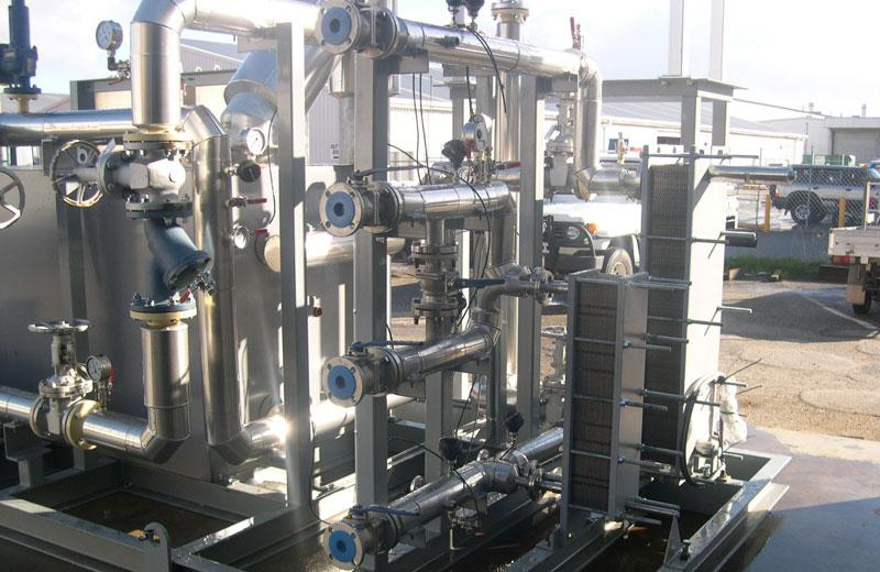 Gold Mine Elution Skids – Engineered Process Systems