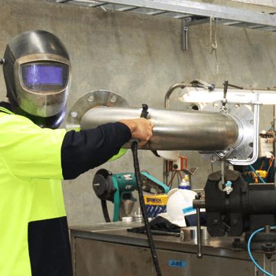 Orbital-welding